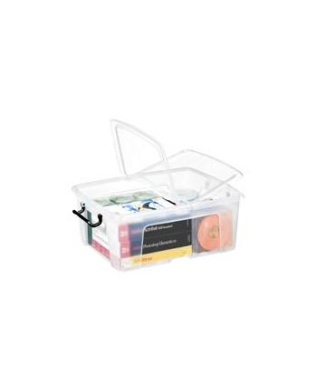Pojemnik biurowy CEP Smartbox, 24l, transparentny