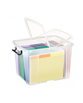 Pojemnik biurowy CEP Smartbox, 40l, transparentny