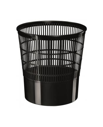 Kosz na śmieci CEP Ecoline, 16l, czarny