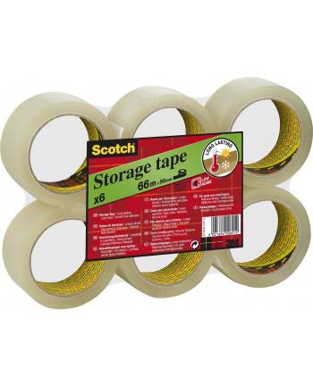 3M-SCOTCH Taśma pakowa SCOTCH® (S5066F6), akrylowa, 50mm, 66m, transparentna