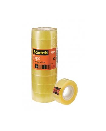 3M-SCOTCH Taśma samoprzylepna ekonomiczna SCOTCH® (508), 19mm, 33m, 8szt.