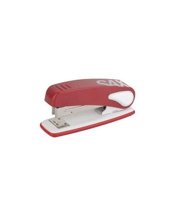 Zszywacz SAX239, zszywa do 25 kartek, czerwony