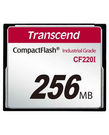 Transcend Karta Pamięci CF220I 256MB przemysłowa