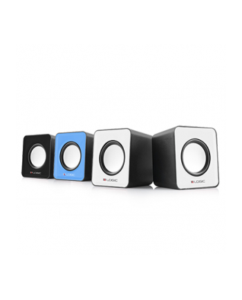 Logic Concept Technology LOGIC Głośniki 2.0 LS-09 (czarne) [ stereo ]
