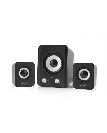Logic Concept Technology LOGIC Głośniki 2.1 LS-20 (czarne) [ stereo ]