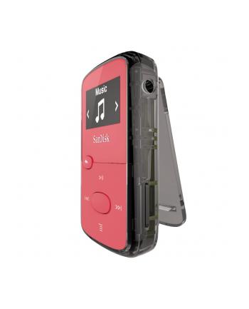 Sandisk Odtwarzacz MP3 CLip Jam 8GB, microSDHC, Radio FM, Różowy
