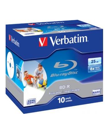 BD-R Verbatim 6x 25GB (Jewel Case 10) Blu-Ray Printable