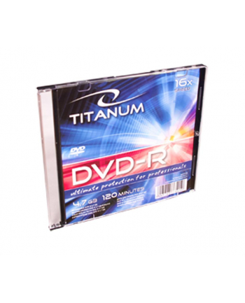 DVD-R TITANUM SLIM 1 16X 4,7GB