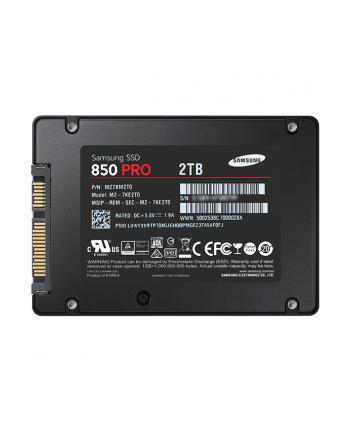 SSD SAMSUNG 2TB 2 5  MZ-7KE2T0BW 850 PRO ASAP