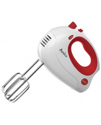 Mikser ręczny biało-czerwony 250W       MD 1012