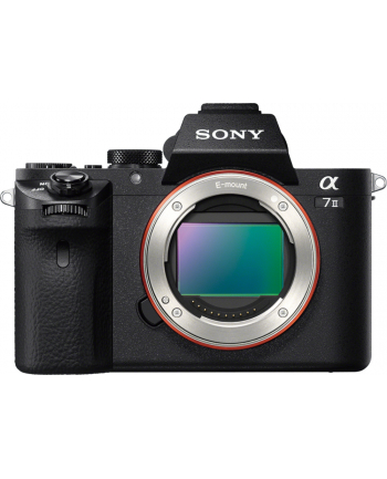 Sony A7 II Black Body, 24.3 MP, Full frame, 35 mm Exmor CMOS sensor, 3.0'' LCD, Full HD, BIONZ X, HDMI, USB2.0, Wi-Fi, NFC, Media: Memory Stick PRO/PRO-HG/XC-HG Duo, SD/SDHC/SDXC card, Li-Ion batt.