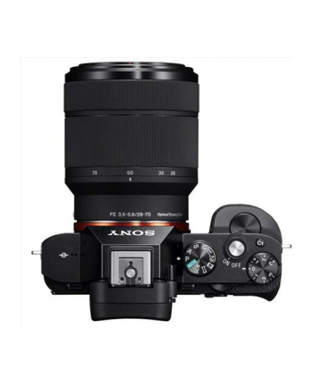 Sony A7 II Black Kit with 28-70mm lens, 24.3 MP, Full frame, 35 mm Exmor CMOS sensor, 3.0'' LCD, Full HD, BIONZ X, HDMI, USB2.0, Wi-Fi, NFC, Media: Memory Stick PRO/PRO-HG/XC-HG Duo, SD/SDHC/SDXC card, Li-Ion batt.