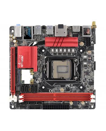 MB Intel 1151 ASRock Z170 Gaming-ITX/ac, M-ITX, D4