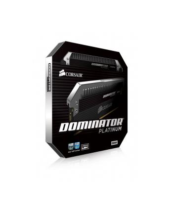 Corsair DDR4 Dominator PLATINUM 128GB/2666(8*16GB) CL15-17-17-35 1.20V Airflow Platinum Fan Assembly Included