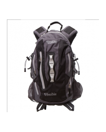 Frendo Vesubie 28L Backpack/420D Ripstop honeycomb and PU 600D/650g/Black+Whistle+Rain Cover