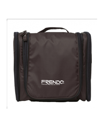 Frendo Toiletry Bag/Nylon/21x21,5x11cm/180g/Black