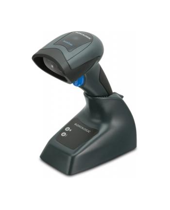 Datalogic Czytnik bezprzewodowy 2D QM2430/433mhz/baza/kabel USB/czarny