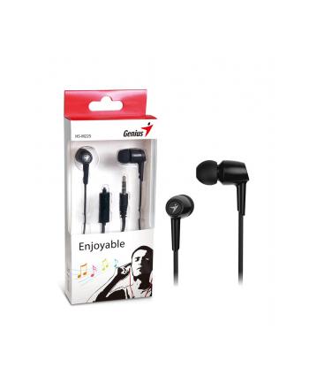 GENIUS słuchawki s mikrofonem HS-M225, czarny