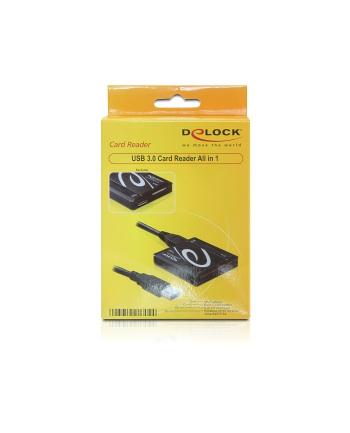 Czytnik Delock all-in-1 USB 3.0 black