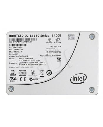 Intel S3510 240GB 2,5'' SSD SATA 6GB/s 16 nm