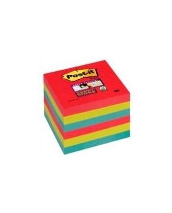 3M-POST-IT 6546SSJP Bloczek samoprzylepny Postit® Super Sticky, sercowe kolory, 6 sztuk po