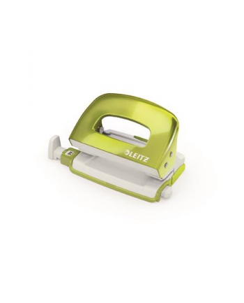 Dziurkacz Mini Leitz WOW metalowy Leitz, zielony metalik
