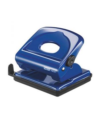 Dziurkacz metalowy FMC25 Rapid, niebieski, 5 lat gwarancji, 25 kartek