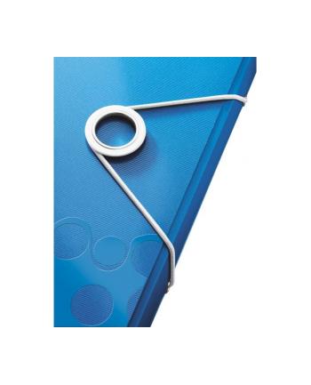 Teczka z gumką PP Leitz WOW, 15 mm, niebieski
