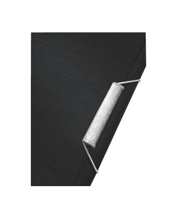 Teczka z 6 przegródkami Leitz Style, czarny
