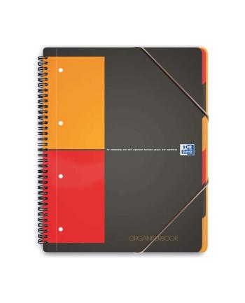 KOŁONOTATNIK Z TECZKĄ ORGANISERBOOK A4+ 80K KR PP OXFORD INTERNATIONAL