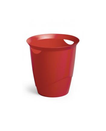 DURABLE TREND kosz na śmieci 16 l, czerwony