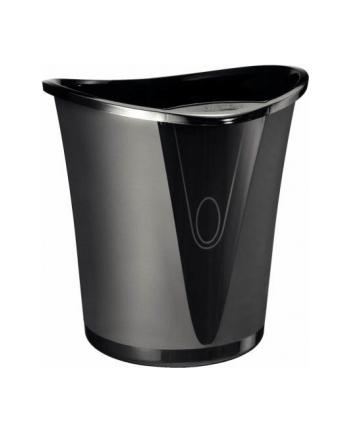 Kosz na śmieci Leitz Allura, 18 litrów, czarny