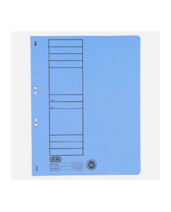 Skoroszyt oczkowy ELBA A4, niebieski