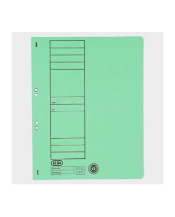 Skoroszyt oczkowy ELBA A4, zielony