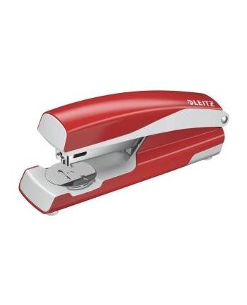 Zszywacz średni, metalowy Leitz, czerwony, 10 lat gwarancji, 30 kartek
