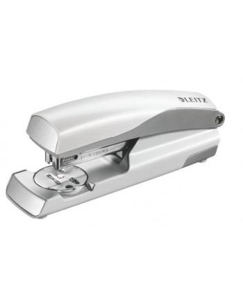 Zszywacz średni metalowy Leitz Style, 10 lat gwarancji, 30 kartek, biały