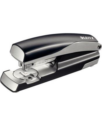 Zszywacz średni metalowy Leitz Style, 10 lat gwarancji, 30 kartek, czarny