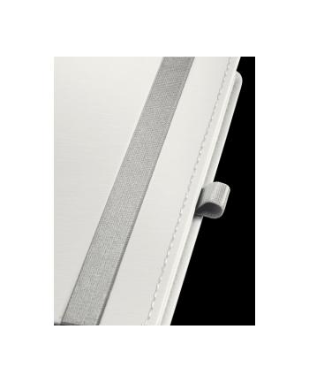 Notatnik w twardej oprawie Leitz Style A6, w kratkę, biały