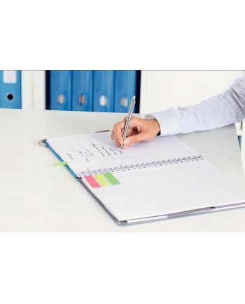 Notatnik z 3 zakładkami ''Be mobile'' Leitz WOW A4, w kratkę, niebieski