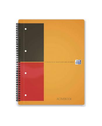 OXFORD Kołonotatnik Activebook  A4+, linia