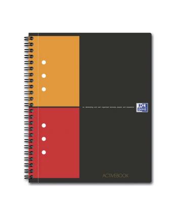 OXFORD Kołonotatnik Activebook  A5+, kratka
