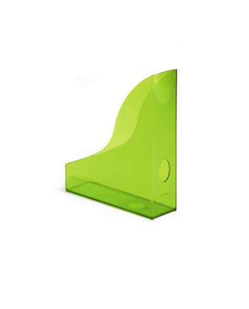 DURABLE BASIC pojemnik na katalogi A4, zielony-przezroczysty