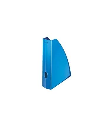 Pojemnik na dokumenty Leitz WOW, niebieski metalik