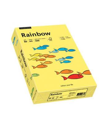 papier kolorowy Rainbow ciemno żółty 18