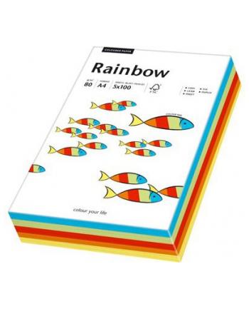 papier kolorowy Rainbow mix intensywny