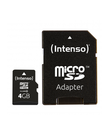 Intenso micro SD 4GB SDHC card class 10