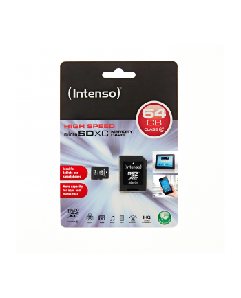 Intenso micro SD 64GB SDXC card class 10