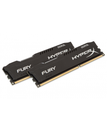Kingston HyperX FURY Black 8GB 1866MHz DDR3L CL11 DIMM (Kit of 2) 1.35V