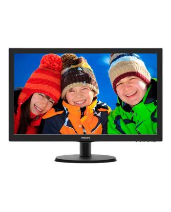 Monitor Philips LED 21,5'' 223V5LHSB; HDMI; TCO, czarny