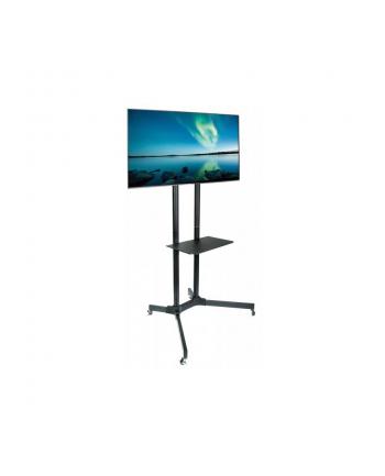 Techly Stojak mobilny do TV LCD/LED/Plazma 30''-65'' 60kg VESA pochylany z półką